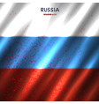 russia flag in blood vector image