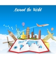 World Travel Planning summer vacations vector image