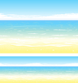 Beach Background vector image