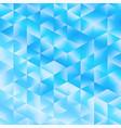 blue poligonal background vector image vector image