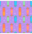 flat longboards seamless pattern vector image vector image