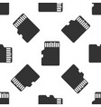 micro sd memory card icon seamless pattern vector image vector image