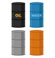 oil drums vector image vector image