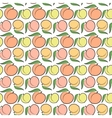 peach pattern vector image