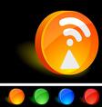 Radio Icon vector image vector image