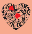 st valentines day - heart symbol vector image vector image