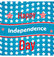 the fourth of july american independence day vector image vector image