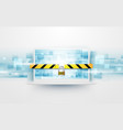 computer security protect your laptop concept vector image