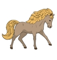 Horse educational game vector image