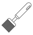 honey steel tool icon outline style vector image vector image