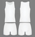 mens underwear white vector image