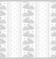 seamless wallpaper in light gray tone on hawthorn vector image