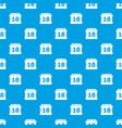 Sheet calendar pattern seamless blue