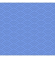 Wave Seamless Blue Pattern vector image