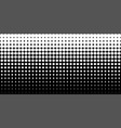 white vertical gradient halftone dots background vector image vector image