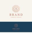 a brand logo vector image vector image