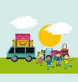 children icon design vector image vector image