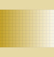 golden gradient background with squares or vector image vector image