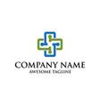 health care symbol logo medical logo cross symbol vector image vector image