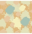 Seamless abstract blots ink pattern vector image vector image