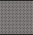 seamless pattern black texture staggered rings vector image vector image