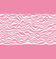 trendy 3d lollipop stripes distorted backdrop vector image