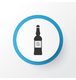 vodka icon symbol premium quality isolated scotch vector image vector image