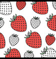 white background with pattern color sections of vector image
