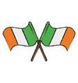 ireland flag icon image vector image