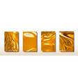 abstract golden acrylic paints surface vector image vector image
