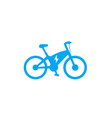 electric bike icon ecologic transport e-bike vector image vector image