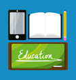 nice elements to study and learn vector image vector image