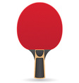 racket for table tennis ping pong vector image vector image