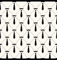 seamless geometric pattern with ustaches vector image vector image
