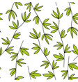seamless pattern of the branches vector image vector image