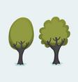 tree clip art 2 vector image