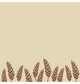 Wheat Bakery design vector image vector image