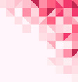 Magenta tinted background vector image