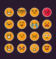 Emoticons emoji set