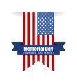 memorial day remember and honor text vector image vector image