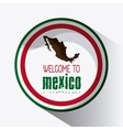 Mexico design Culture icon Colorfull vector image