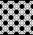 monochrome ornamental square texture black white vector image vector image