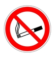 Sign no smoking 2405 vector image