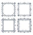 vintage ornamental frames vector image