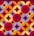 abstract geometric seamless pattern tile vector image