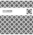 Black-white pattern 7 vector image vector image