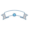 ribbon banner isolated vector image