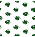 seamless pattern of leaves monstera floral vector image vector image
