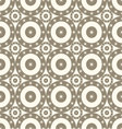 seamless patterns with circles vector image vector image