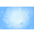 Winter Bokeh 006 vector image vector image